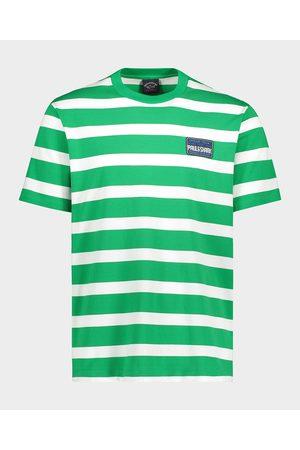 Paul&Shark Organic Cotton T-Shirt With Iconic Badge