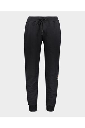 Paul&Shark Organic Cotton Sweatpants With Fluo Printed Shark