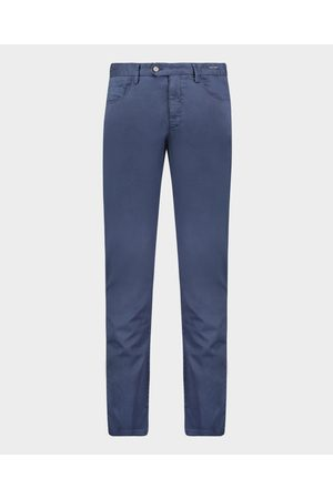 Paul&Shark Stretch Silk And Cotton 5 Pockets Trousers