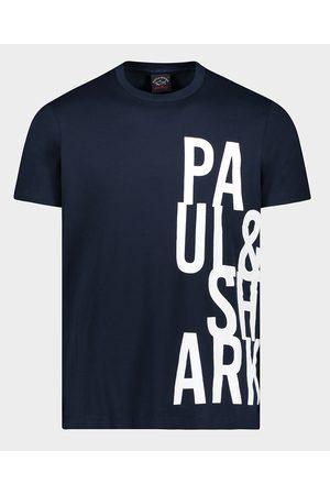 Paul&Shark Organic Cotton T-Shirt With Print