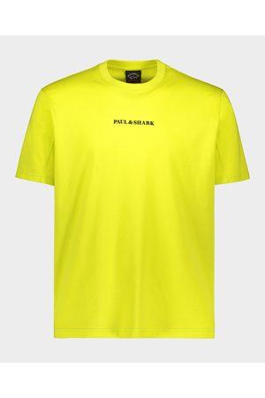 Paul&Shark Organic Cotton T-Shirt With Printed