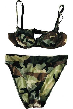 Dior Women Underwear - Khaki Cotton Lingerie