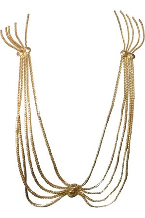 Dior Metal Long Necklaces