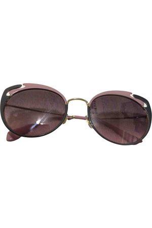 Miu Miu Metal Sunglasses