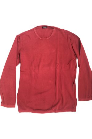 Stefanel Burgundy Cotton Knitwear & Sweatshirts
