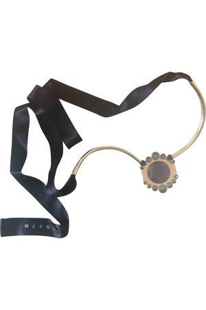 Marni Metallic Metal Necklaces