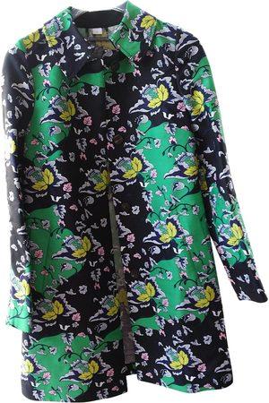 Diane von Furstenberg Silk Trench Coats
