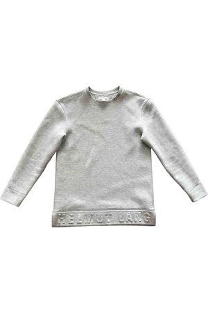 Helmut Lang Grey Cotton Knitwear & Sweatshirts