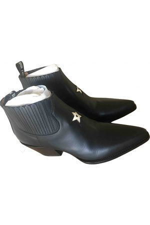 Dior LA leather western boots