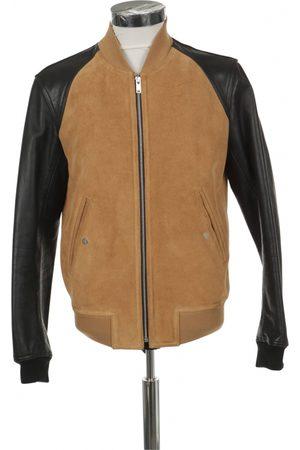 Sandro Multicolour Leather Jackets