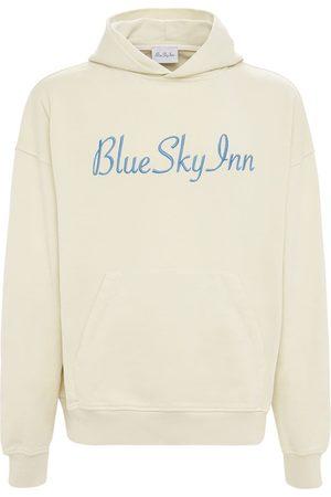 BLUE SKY INN Logo Cotton Sweatshirt Hoodie
