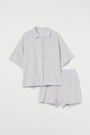 H&M Terry Pajamas