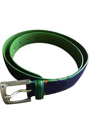 Purificación García Leather belt