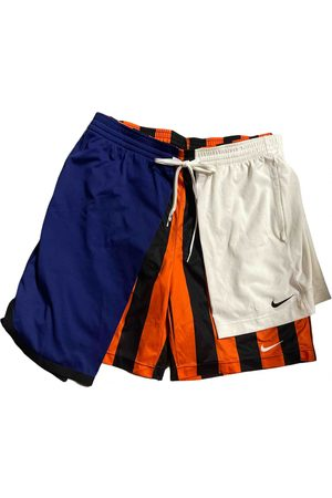 Nike Men Shorts - Multicolour Polyester Shorts