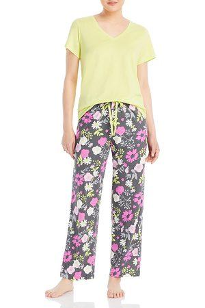 HUE Destiny Floral Pajama Set (54% off) - Comparable value $54