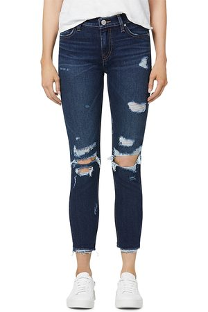 Hudson Lana High Rise Distressed Skinny Jeans in Floating Free Dest