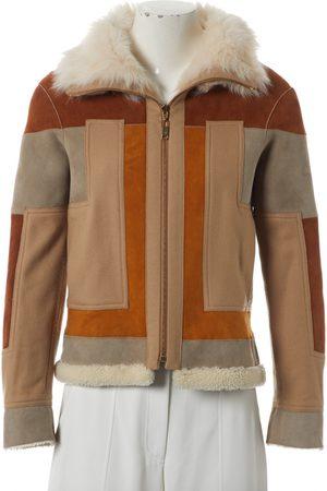 Chloé Multicolour Suede Leather Jackets