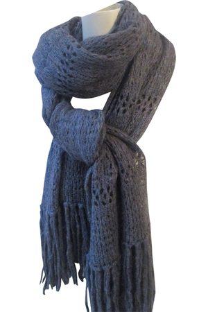 Isabel Marant Anthracite Wool Scarves