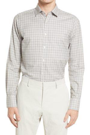 Canali Men's Plaid Button-Up Shirt