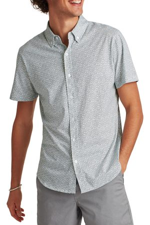Bonobos Men's Slim Fit Knit Short Sleeve Button-Down Shirt