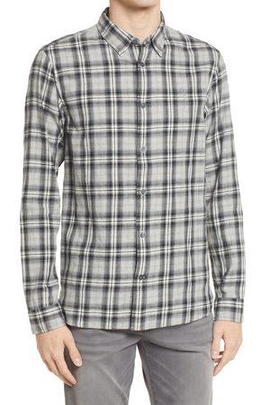 AllSaints Men's Men's Kelross Slim Fit Plaid Button-Up Shirt
