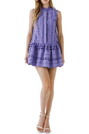 Endless Rose Women's Sleeveless Lace A-Line Dress