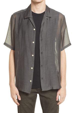 AllSaints Men's Men's Solana Relaxed Fit Short Sleeve Button-Up Shirt
