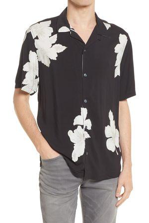 AllSaints Men's Men's Bouquet Relaxed Fit Floral Short Sleeve Button-Up Shirt