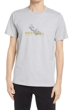 Norse Projects Men's Niels Canoe Adventure Graphic Tee