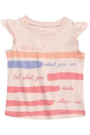 Peek Aren'T You Curious Toddler Girl's Kids' Flutter Sleeve Top