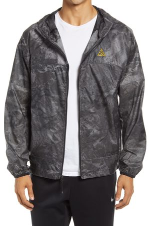 Nike Men's Acg Cinder Cone Hooded Water Repellent Jacket