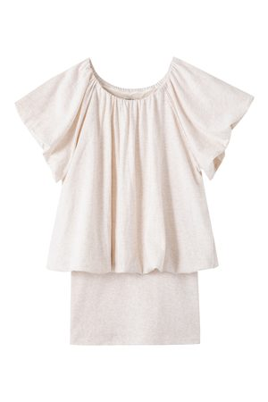 Habitual Kids Girl's Alalia Bubble Top & Camisole Set