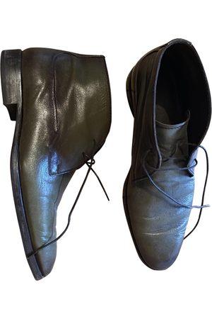 Berluti Khaki Leather Boots