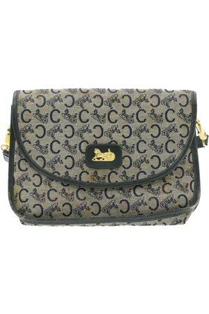 Céline Navy Cloth Clutch Bags