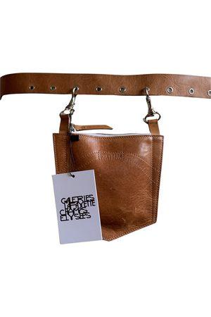 D'heygere Camel Leather Belts