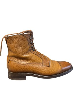 Malfroid Camel Leather Boots