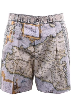 Dolce & Gabbana Multicolour Cotton Shorts