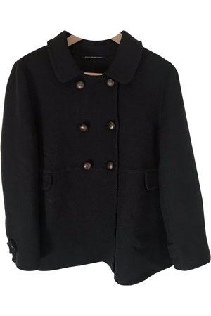 Max Mara Navy Wool Coats