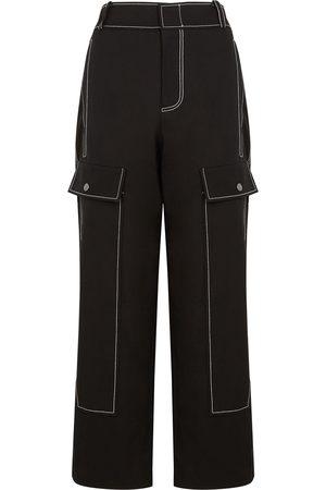 REJINA PYO Peggy straight-leg cotton trousers