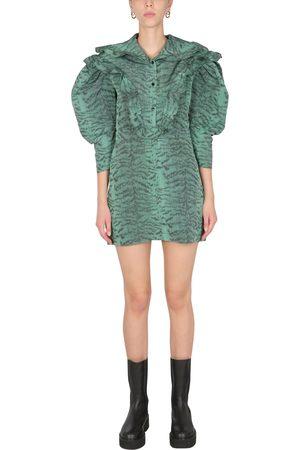 Serafini Mini dress with ruches