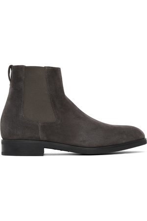Paul Smith Grey Canon Chelsea Boots