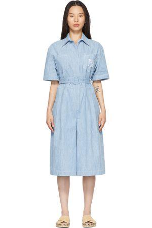 Fendi Blue Chambray 'Forever ' Jumpsuit