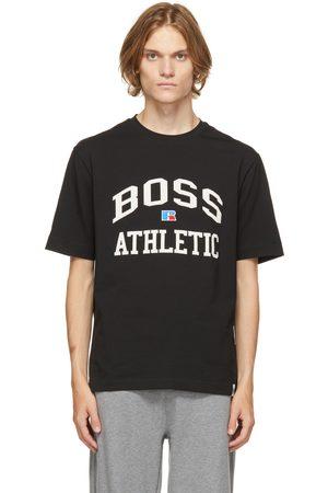 HUGO BOSS Black Russell Athletic Edition Logo T-Shirt