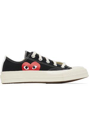 Comme des Garçons Black Converse Edition Half Heart Chuck 70 Low Sneakers