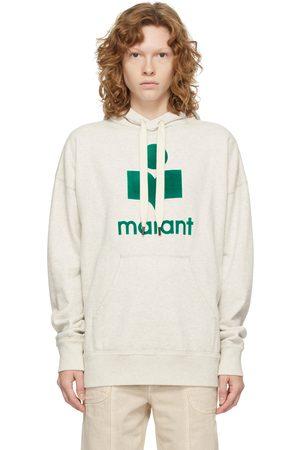 Isabel Marant Off-White & Green Mansel Hoodie