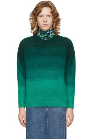 Isabel Marant Green Ombré Drussell Sweater