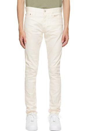 JOHN ELLIOTT Off-White Dyed 'The Cast 2' Jeans