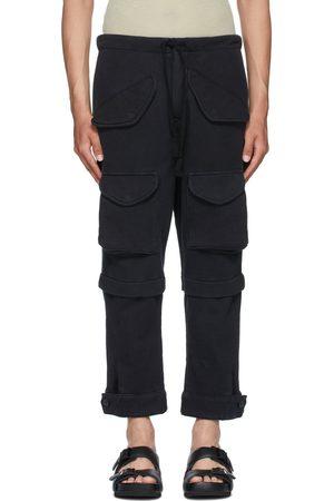 GREG LAUREN Fleece Cargo Pants