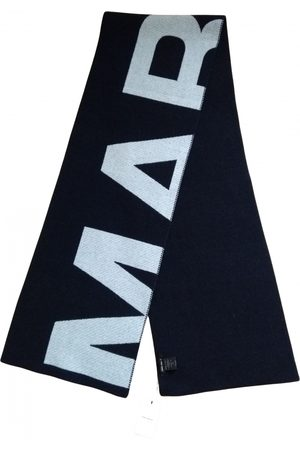 Isabel Marant Navy Wool Scarves