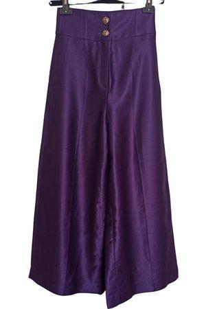 UTERQUE Cotton Trousers
